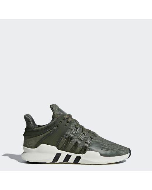 buy popular 90370 cf8ac Adidas - Green Eqt Support Adv Shoes - Lyst ...