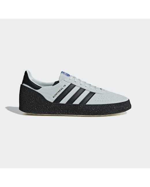 san francisco cbd4e 6b36a Adidas - Green Montreal 76 Shoes for Men - Lyst ...