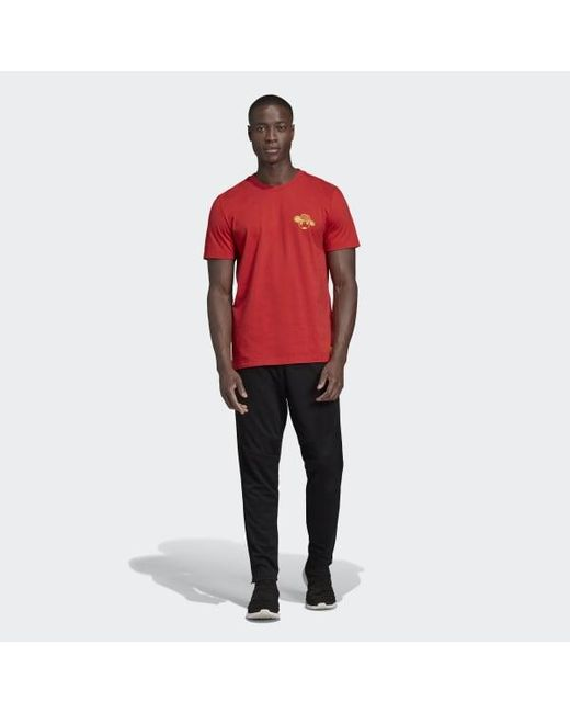 01326bc1d ... Adidas - Red Colombia Seasonal Special Graphic Tee for Men - Lyst ...