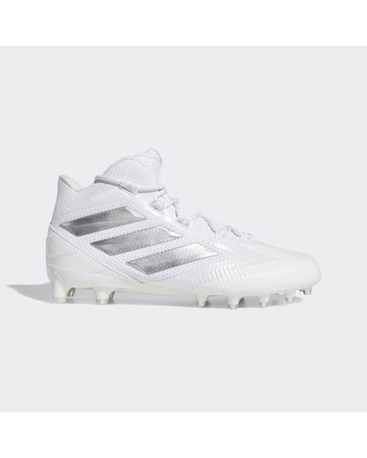 1a197e56fc5f7 Adidas - White Freak Carbon Mid Cleats for Men - Lyst ...