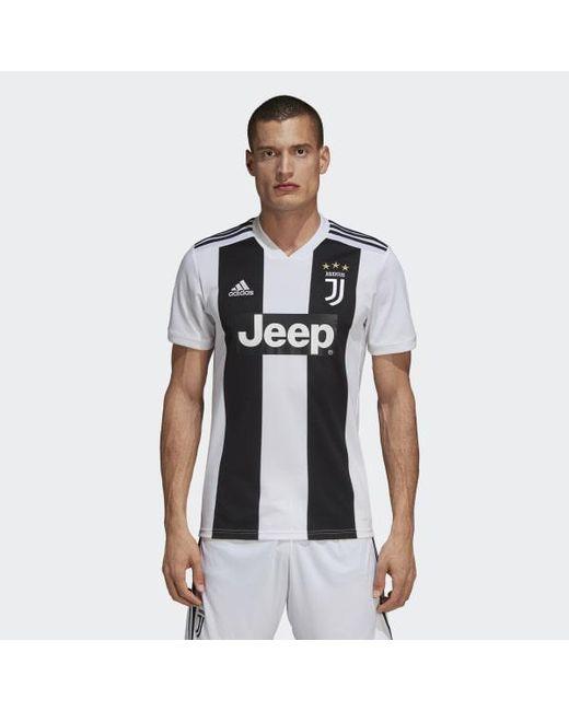 f199517bafd Adidas - Black Juventus Home Jersey for Men - Lyst ...