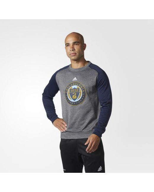 Adidas - Blue Philadelphia Union Ultimate Crew for Men - Lyst