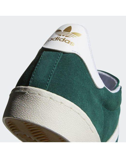 pretty nice e32b7 579cc ... Adidas - Green Half Shell Vulc Shoes for Men - Lyst ...