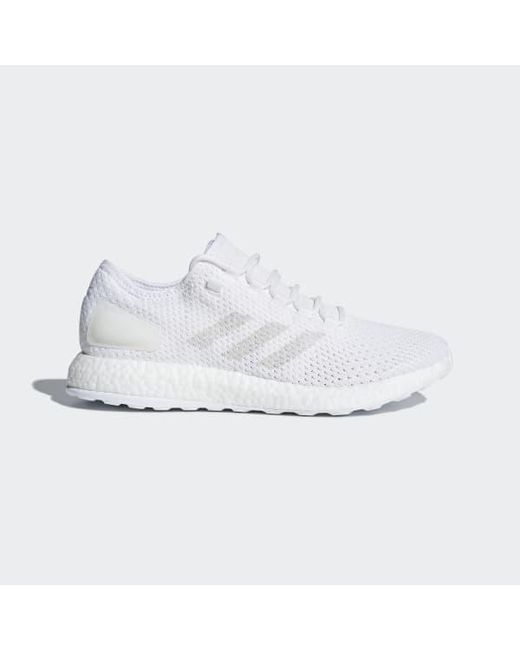 723423d14 Adidas - White Pureboost Clima Shoes - Lyst ...