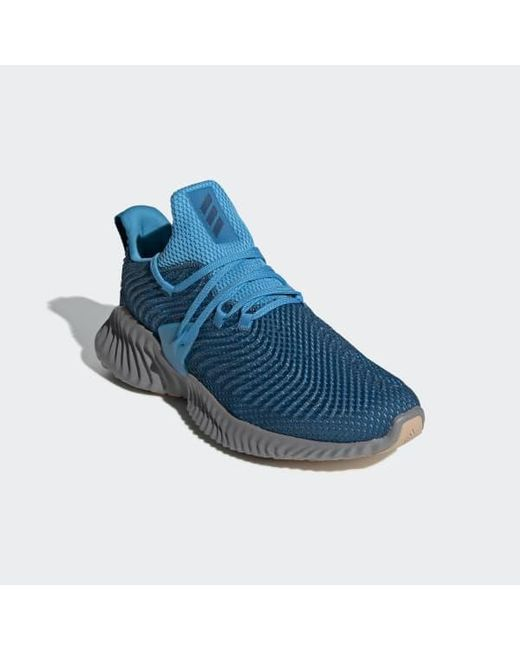 save off ce569 7ab2e ... Adidas - Blue Alphabounce Instinct Shoes for Men - Lyst ...