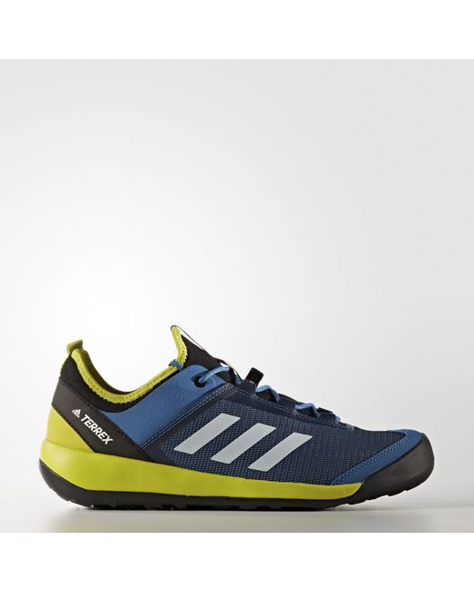 brand new 63db1 c5f72 Adidas - Blue Terrex Swift Solo Shoes for Men - Lyst ...