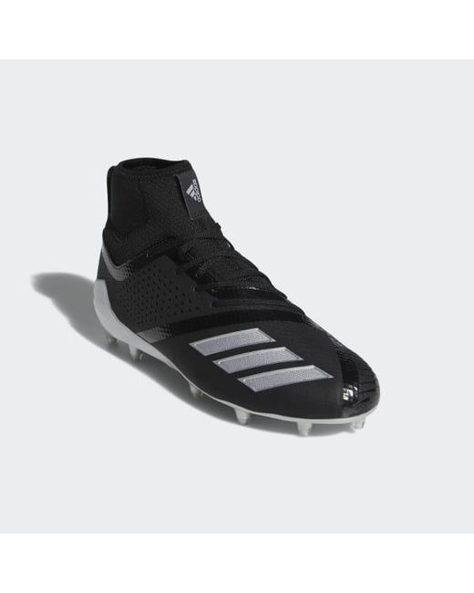 on sale a6a3c 53afa ... Adidas - Black Adizero 5-star 7.0 Lax Mid Cleats for Men - Lyst ...