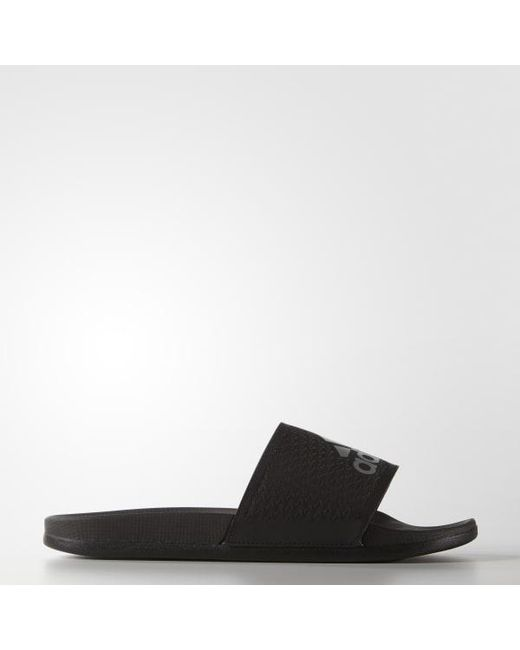 0954b1d408337 Adidas - Black Adilette Supercloud Plus Slides for Men - Lyst ...
