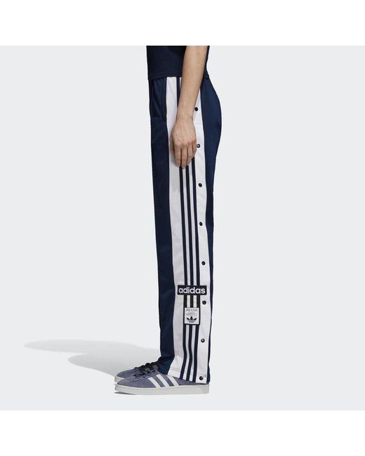 9d60e428d16a ... Adidas - Blue Adibreak Tracksuit Bottoms - Lyst ...
