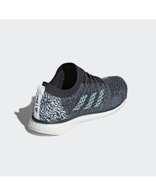 sports shoes cdaaa 17726 ... Adidas - Gray Adizero Prime Parley Shoes for Men - Lyst ...