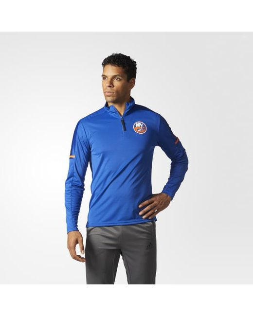 Adidas - Blue Islanders Authentic Pro Jacket for Men - Lyst