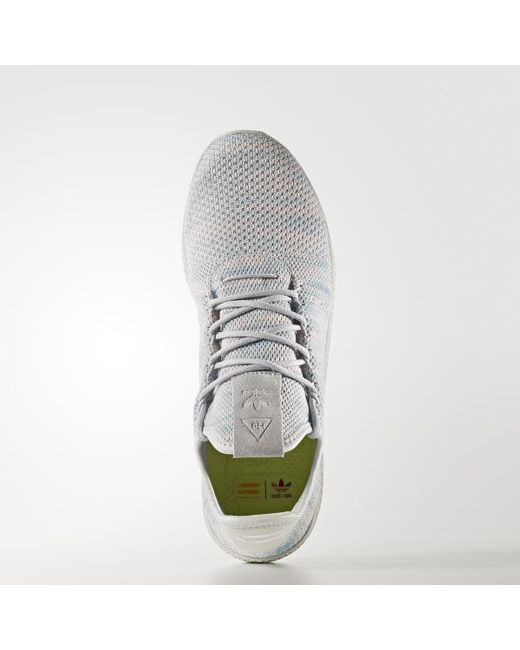 75ff20b7f77a5 ... Adidas - Blue Pharrell Williams Tennis Hu Shoes for Men - Lyst ...
