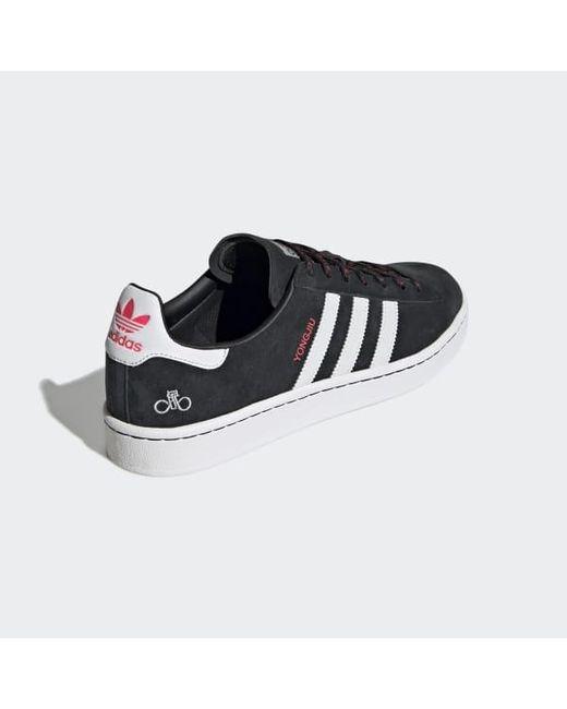 bdafa81970e31 adidas Campus Shoes in Black - Lyst