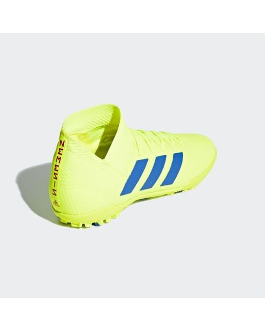 d92ed55a7db0 ... Adidas - Yellow Nemeziz Tango 18.3 Turf Shoes for Men - Lyst ...