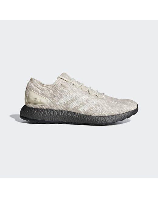 9629e9ece6164 Adidas - Natural Pureboost Shoes for Men - Lyst ...