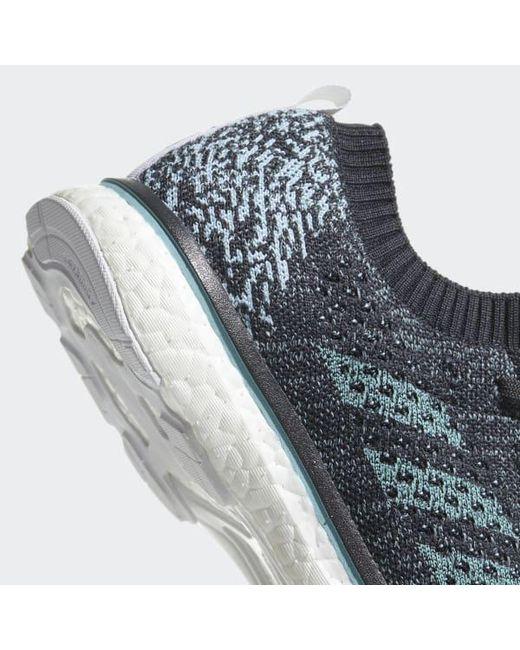 b2b1574c6a1 ... Adidas - Gray Adizero Prime Parley Shoes for Men - Lyst ...