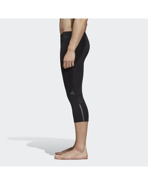 f14eb60a4ea0a ... Adidas - Black Supernova Tights for Men - Lyst ...