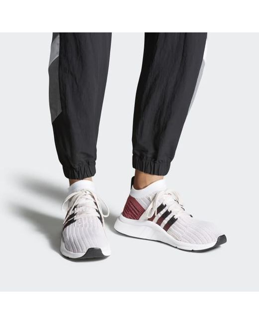 premium selection 240a5 90812 ... Adidas - Purple Eqt Support Mid Adv Primeknit Shoes for Men - Lyst ...