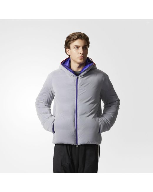 5bbae0fe3256 Adidas - Blue By Kolor Down Jacket for Men - Lyst ...