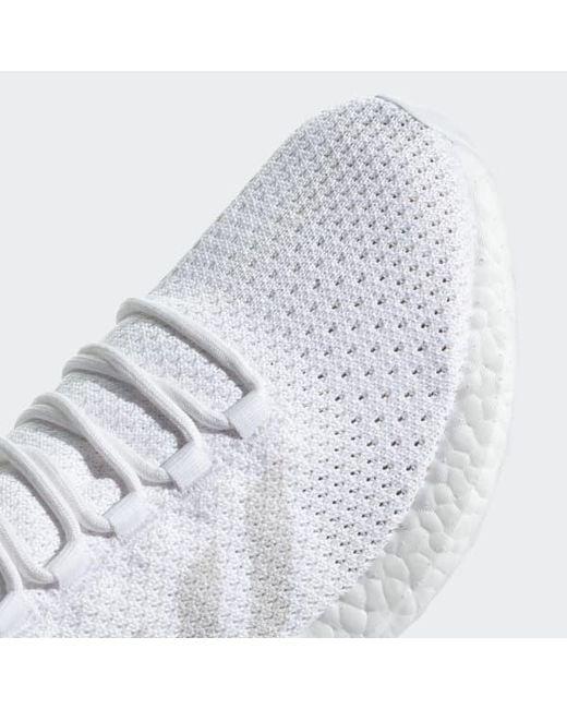 a111bb9b2 ... Adidas - White Pureboost Clima Shoes - Lyst ...