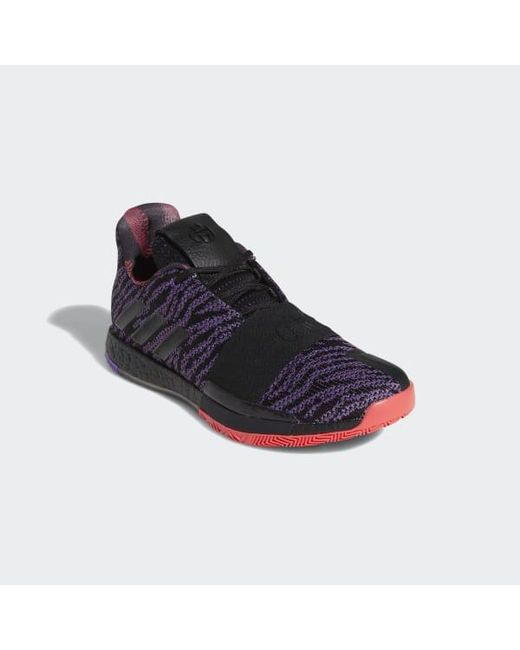 828e2e5a12b4 adidas Harden Vol. 3 Shoes in Purple for Men - Lyst