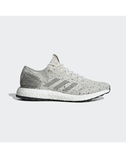 fe33ac151bb59 Adidas - White Pureboost Shoes for Men - Lyst ...