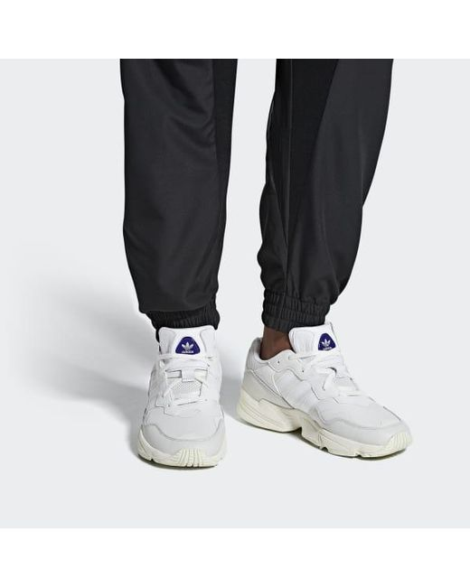 buy popular 7249e a2727 ... Adidas - White Yung-96 Shoes for Men - Lyst ...