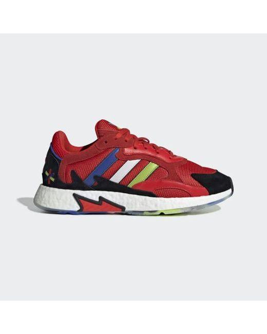 5a66d97845e Adidas - Red Tresc Run Shoes for Men - Lyst ...