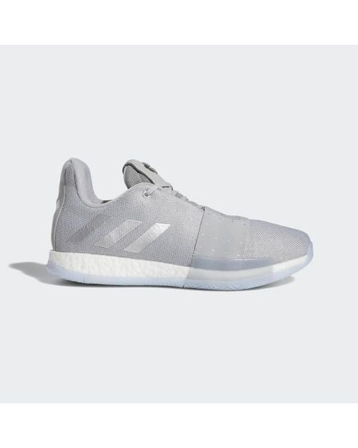 addb7cafe8f5 Adidas - Gray Harden Vol. 3 Shoes for Men - Lyst ...