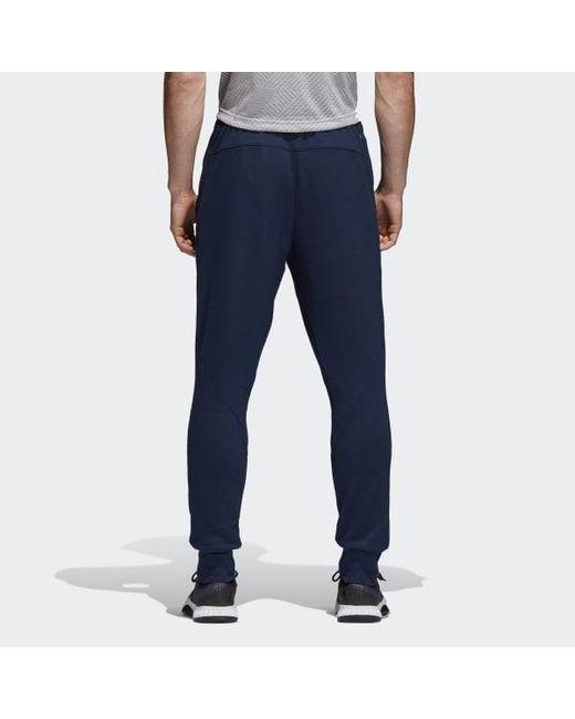 Adidas Prime Workout Mens Joggers Men's Clothing Blue