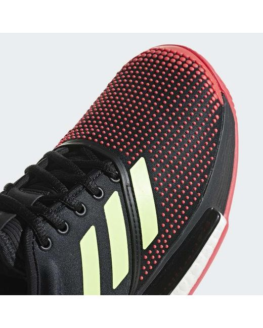 low priced 58695 daca6 Lyst - Adidas Solecourt Boost Shoes in Black