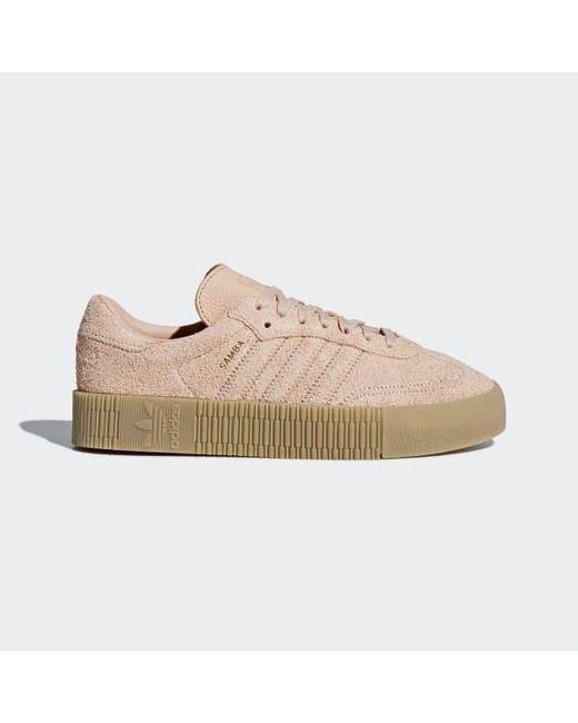 4b6044246a8 Adidas - Pink Samba Rose Shoes - Lyst ...
