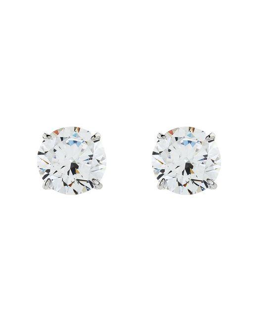 Carat* | Metallic 1.5ct Round Stud Earrings | Lyst