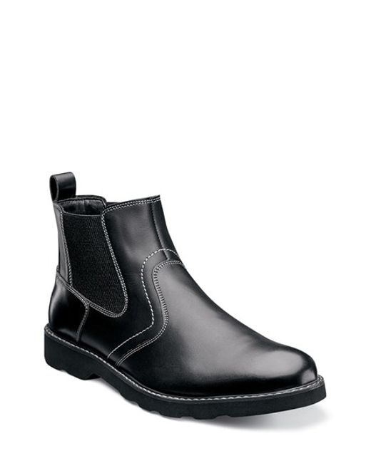 Florsheim | Black 'casey' Chelsea Boot for Men | Lyst
