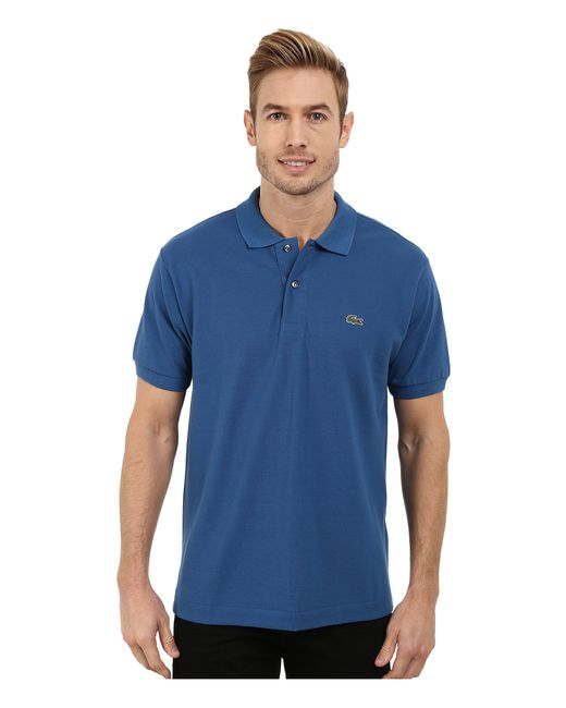 Lacoste | Blue L1212 Classic Pique Polo Shirt for Men | Lyst