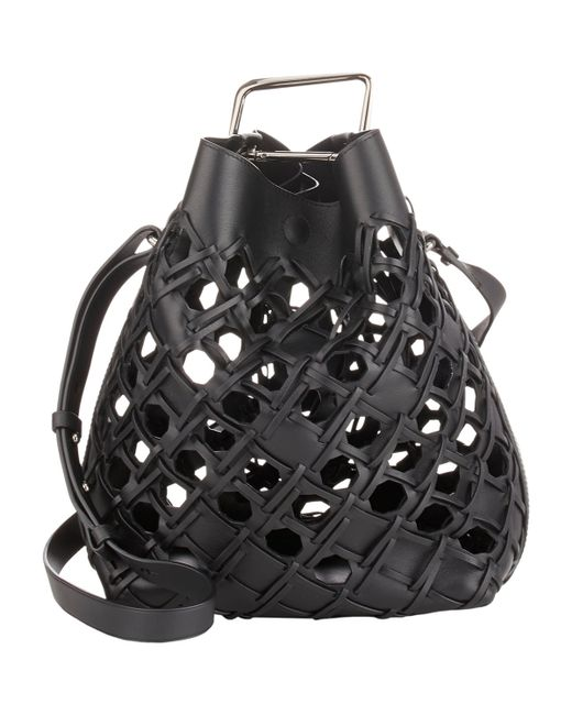 3.1 Phillip Lim | Black Quill Bucket Bag | Lyst