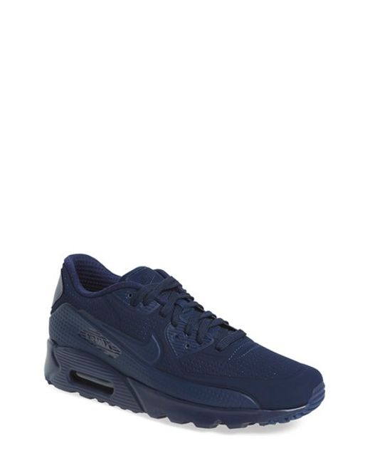 nike 39 air max 90 ultra moire 39 sneaker in blue for men. Black Bedroom Furniture Sets. Home Design Ideas