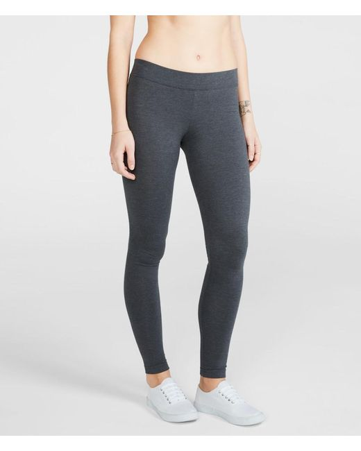 Aéropostale | Gray Solid Leggings | Lyst
