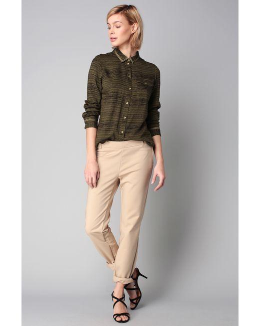 Vero Moda | White Straight-cut Trousers | Lyst