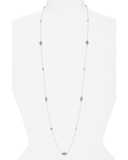 Freida Rothman   Metallic 'the Standards' Long Station Necklace   Lyst