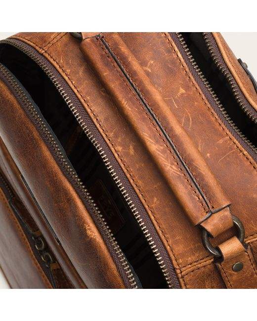 Frye | Brown Logan Backpack for Men | Lyst