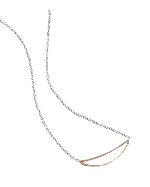 Melissa Joy Manning   Metallic Smile Necklace   Lyst