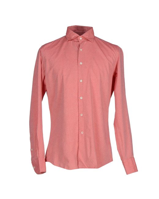 Glanshirt | Pink Shirt for Men | Lyst