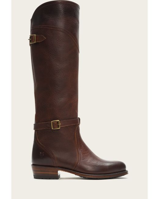 Frye | Red Dorado Lug Riding | Lyst