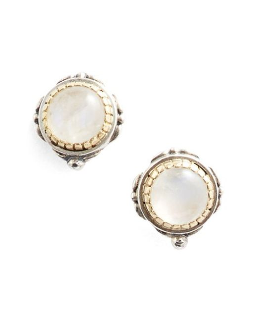 Konstantino | Metallic 'erato' Stud Earrings | Lyst