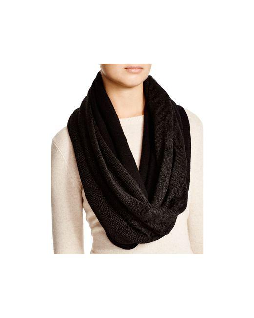 Michael Kors | Black Jersey Infinity Scarf - 100% Bloomingdale's Exclusive | Lyst
