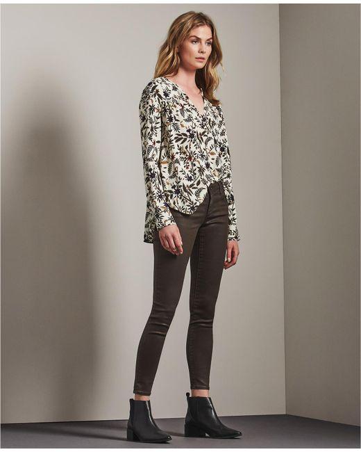 AG Jeans | Multicolor The Vinte Leatherette Legging Ankle | Lyst