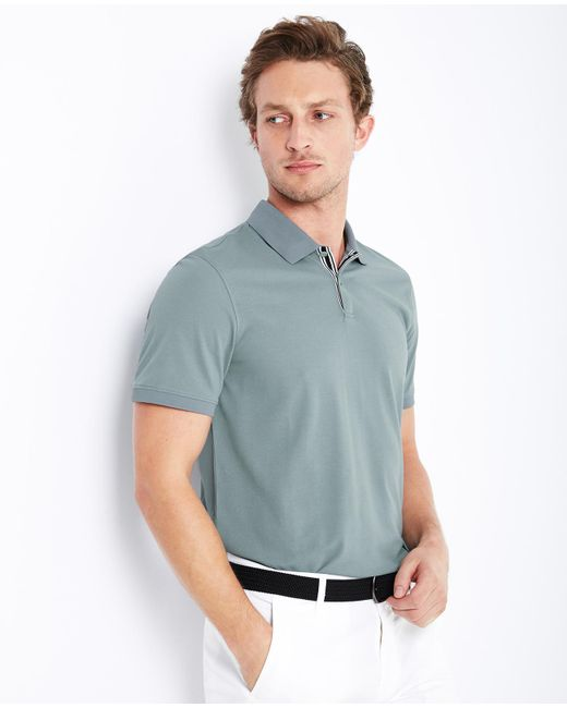 AG Jeans | Green The Berrian Polo for Men | Lyst