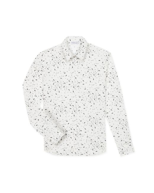Agnes B. - White Graphic Print Vicious Shirt for Men - Lyst