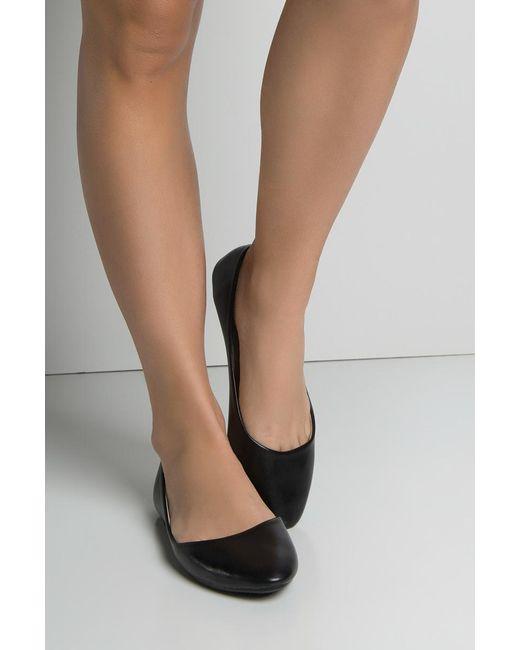 Akira - Black Arabesque Ballet Flats - Lyst